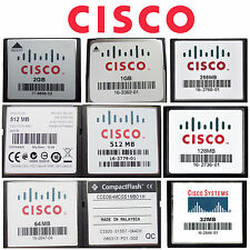 CISCO CF 32/64/128 / 256/512mb 1gb 2gb compatta Flash Scheda di memoria per