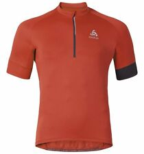 Odlo Jersey bici ISOLA Stand-up collar s/s 1/2 zip - Maglia Ciclismo