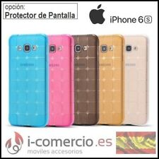 Funda Carcasa de Silicona TPU Gel AntiChoque MAGIA CUBO Apple Iphone 6 6S - 4,7""