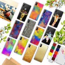 Thin Patterned Soft Silicone TPU Case Cover Custodie For iPhone SE 5s 6 6s Plus