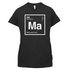 MARYAM Periodic Element - Womens / Ladies T-Shirt Geeky - 14 Colours