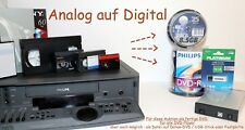 Hi8 / Digital8 / Video8 /  MiniDv / MC-Tape / S-VHS / VHS-C / VHS / Super8 /