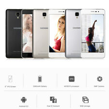 """DOOGEE X10 Smartphone WCDMA 3G Teléfono 5.0"""" Android 6.0 MTK6570 Dual Core 1.3GH"""