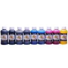 Pigment ink Refill For Ciss Continuous Ink System Fits Epson 8 Colour