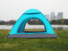 2 4 Man Two Person Pop Up Festival Camping Tent Carry Case Easy Quick Fast Pitch