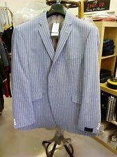 "SCOTT QUALITY BLUE STRIPE BLAZER SIZE 52""L, 54""R 56""R"