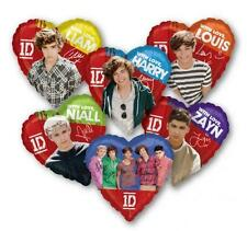 One Direction palloncini sagomati cuore elio Zayn Harry Louis Niall Liam festa p