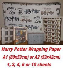 Unique Harry Potter A1/A2 Wrapping Paper, Hogwarts Alumni wizard birthday party