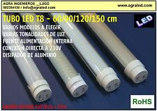 TUBO LED T8 60cm, 90cm, 120cm, 150cm  (AGRALED)