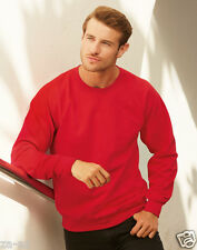 Fruit of the Loom Herren Raglan Sweatshirt Pullover Hell Top Pullover