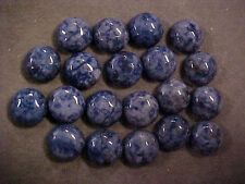 20 Cabochon Sodalite Round Shape GemStone 12 mm