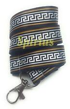 Spirius Lanyard Neck Strap with Metal Clip for ID Card Key Badge Holder keychain