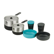 360 DEGREES FURNO COMPACT STOVE AND POT SET 5 PIECE COOK SET HARD ANODIZED