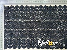 Wide Vintage Style Guipure Lace Trim Crochet Wedding Sewing Bridal Fabric 22cm