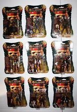 PIRATI DEI CARAIBI ACTION FIGURE PERSONAGGI JACK SPARROW DAVY JONES WILL TURNER