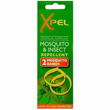 ANTI-MOSQUITO WRIST BANDS INSECT BUG REPELLANT BRACELETS 100% DEET FREE DELIVERY