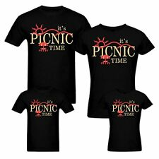 Picnic Time - Family T-shirts - Set Of 4