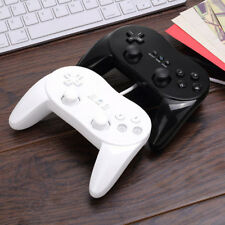 Classic Wired Game Controller Remote Pro Gamepad Joypad Shock For Nintendo Wii..