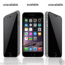 PRIVACY TEMPERED GLASS FOR APPLE IPHONE 5 5s / 6 / 6s / 6 Plus / 7 /7s / 7+