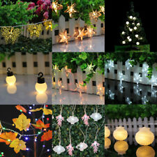 Battery Powered Fairy String Light Holiday Festival Wedding Home Decoration Lamp