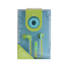 Universal Cute Flat Wire Donut Earphones for iPhone MP3 MP4 Cell Phone