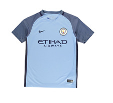 Official Nike Manchester City Etihad Home Junior Boy Girl Shirt Jersey 2016/17
