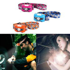Outdoor Headlamp 120 Lumens LED Headlight Flashlight For Camping Hiking Fishing