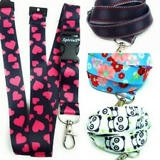 Spirius flowers Lanyard Neck Strap for ID Card Phone Keyring Key Badge Holder