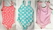NEW Baby Girls Polka Dot Spotty Swimming Costume Swimsuit Age 12-18 Months A12