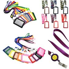 Spirius Lanyard Neck Strap with Metal Clip for ID Card Phone Key Badge Holder ox