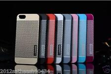 Real Motomo Metal Aluminium Alloy + Pc Case Luxury Cell IPhone Cases Hard Back