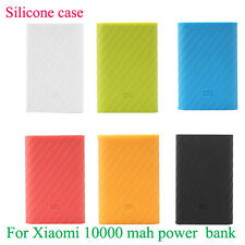 Soft Silicone Xiaomi Mi Power Bank Case Cover For 10000 Mah power bank