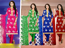 Party and Casual Wear Cotton Printed Un-stitched Dress Material