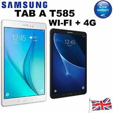 "Brand New Box Samsung Galaxy Tab A T585 10.1"" WIFI 16GB + 4G Android Black White"