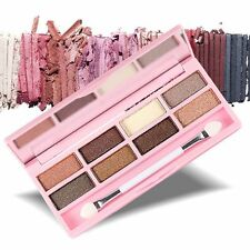 Makeup Eye Shadow Makeup Cosmetic Shimmer Matte Eyeshadow Palette with Brush