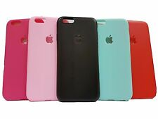 Matte finish + Logo Cut + Soft TPU back case cover for Apple iPhone Series