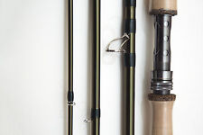 New Fishoot 4 Piece Salmon Fly Fishing Rod - 12-14 ft - Line Weight 8-11