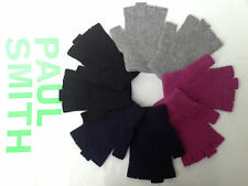 Paul Smith Authentic BNWT 100% Cashmere Fingerless Gloves (One Size) RRP £80
