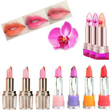 Beauty Jelly Flower Lipstick Temperature Color Changing Long Lasting Lip Gloss