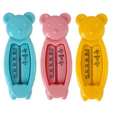 Lovely Non-Toxic Cartoon Bear Baby Bath Water Thermometer Baby Bath Supply