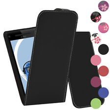 Premium PU Leather Vertical FLIP Pouch Holster Case for HTC Windows Phone 8X
