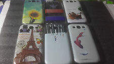 for SAMSUNG GALAXY S3 i9300 DESIGNER PRINTED HARD BACK COVER SILICON CASE