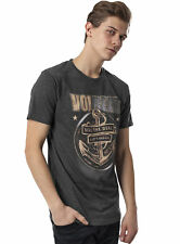 Merchcode Fashion T-Shirt Herren VOLBEAT Print Kurzarm Shirt MC-010 Anthrazit
