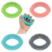 Finger Exercise Ring Silicone Hand Grip Arms Muscle Power Training 20-60lb