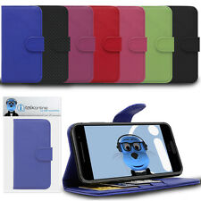 Book Wallet Case with Credit Card Holder & Stand For Acer Liquid Z630 / Z630S