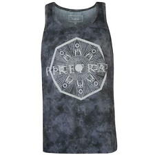 MENS FIRETRAP BLACK SLEEVELESS SUMMER TEE SHIRT T-SHIRT TOP VEST