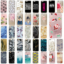 Thin Case Cover Funda Carcasa Pattern TPU Protective For iPhone 5 6 6s 7 PLUS SE