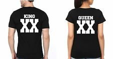 Osiyankart Couple T Shirt King queen XX 4 all sexy lovers in love