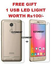 Combo Deal For Lenovo K6 Power, Transparent Back Cover Case and Tempered Glass