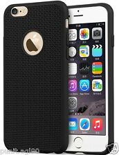 Thin Matte Hollow Net Design Soft Back Case Cover TPU Silicone For All iPhones